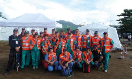 Il Gruppo di Chirurgia d'Urgenza di Pisa<BR>in Indonesia per DIREX 2011